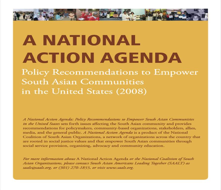 National Action Agenda pic